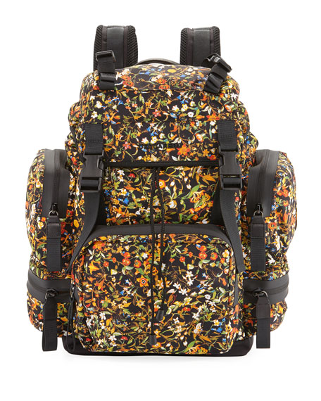 Dsquared2 Men's Akira Floral-Print Backpack