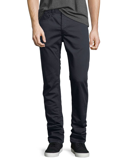 Men's Standard Issue Fit 2 Mid-Rise Relaxed Slim-Fit Twill Pants