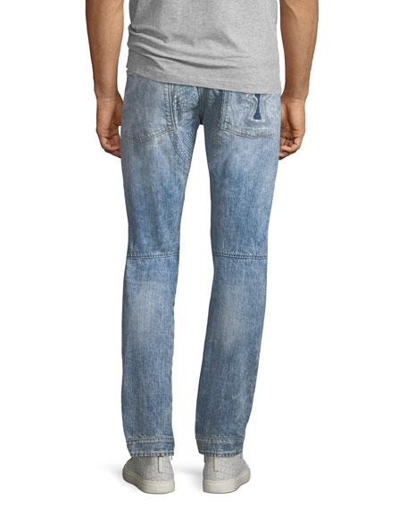 5620 3D Tapered Rip & Repair Jean Shorts