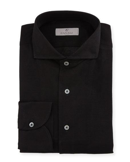 Canali Textured Dress Shirt