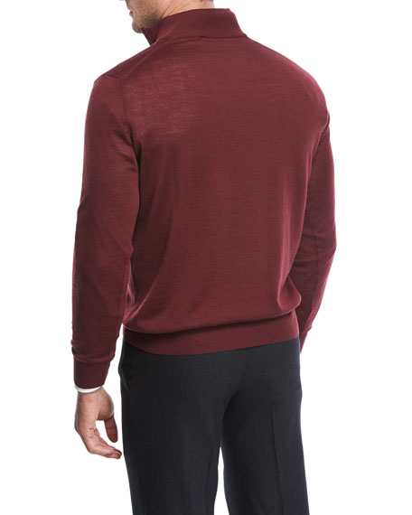 Wool Half-Zip Sweater