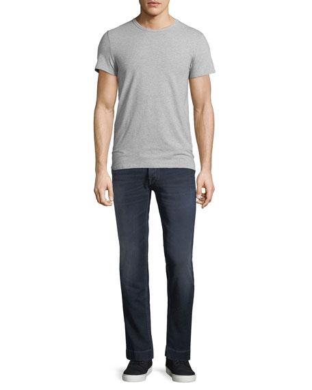 Dark Wash Slim-Straight Jeans