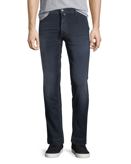Jacob Cohen Dark Wash Slim-Straight Jeans