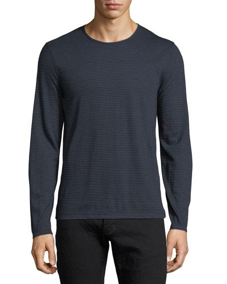 John Varvatos Star USA Striped Long-Sleeve T-Shirt