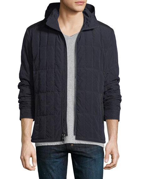 John Varvatos Star USA Quilted Down-Filled Jacket