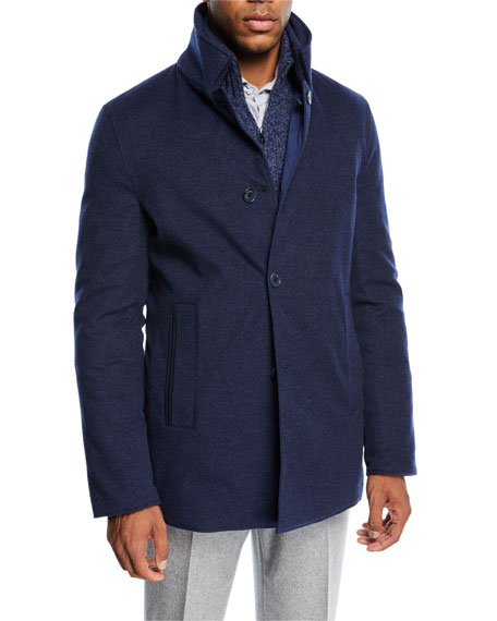 Loro Piana Lakeside Reversible Quilted Jacket