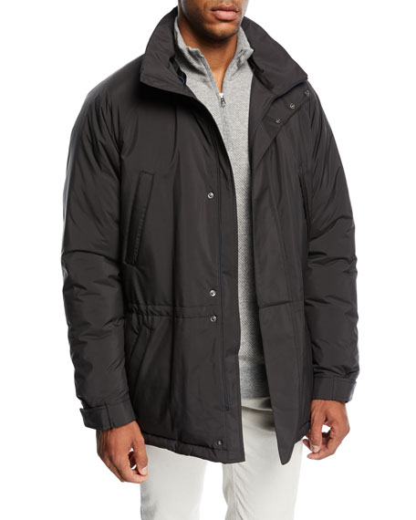 Loro Piana Icer Wind Stretch Storm Coat