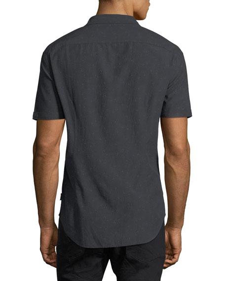 Slim-Fit Short-Sleeve Shirt