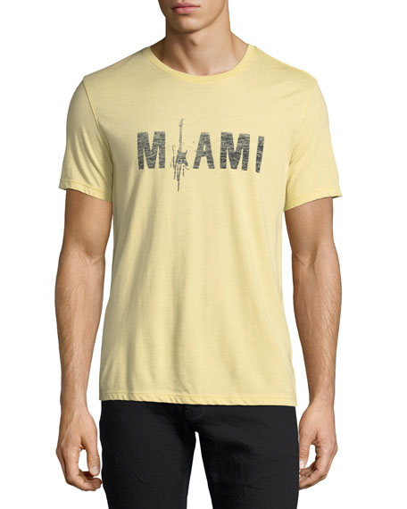Miami Rock Graphic T-Shirt