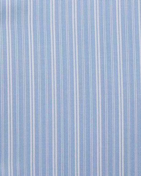 Thick Striped Cotton Dress Shirt