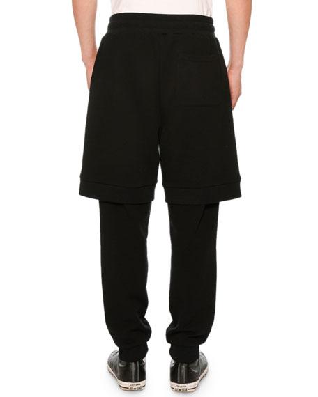 Logo Sweatpants with Shorts