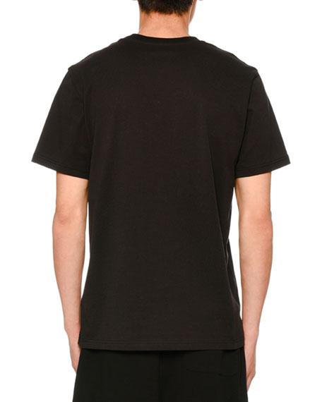 Cotton Logo Crewneck T-Shirt