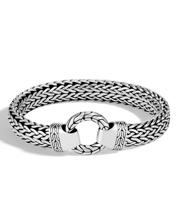 Men S Clic Chain Sterling Silver Bracelet