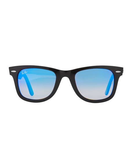 Wayfarer Ease Sunglasses with Metallic Lenses