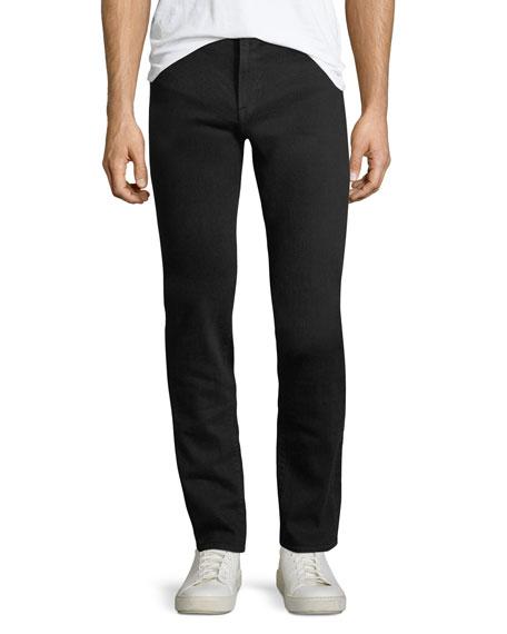 FRAME L'Homme Slim-Straight Jeans, Noir