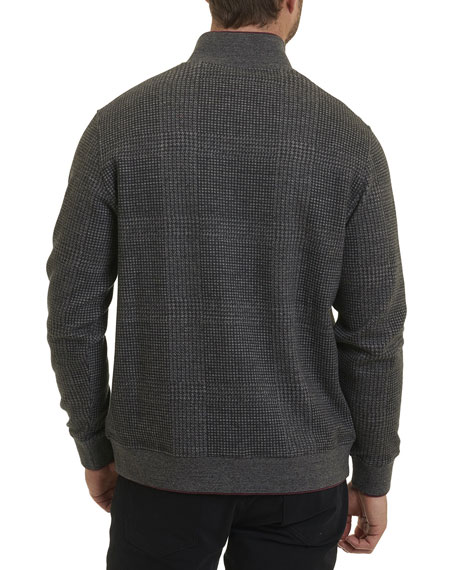 Hyde Park Full-Zip Sweater