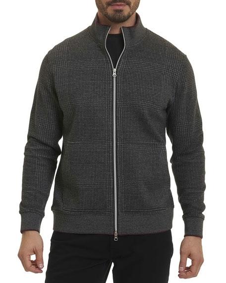 Robert Graham Hyde Park Full-Zip Sweater