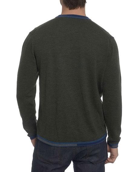 Cooperstown Wool Crewneck Sweater