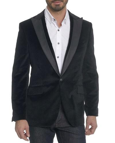 richter velvet sportcoat