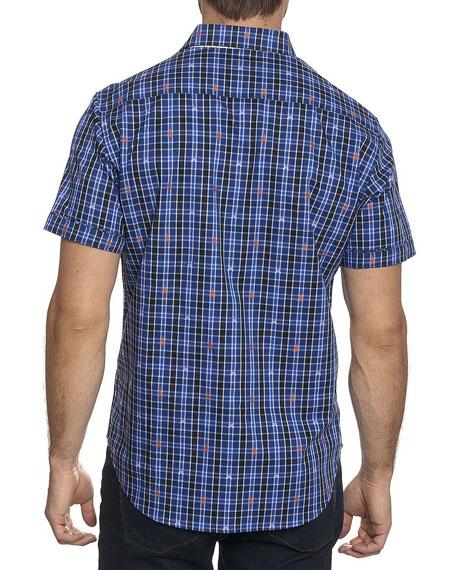 Campfire Plaid Short-Sleeve Shirt