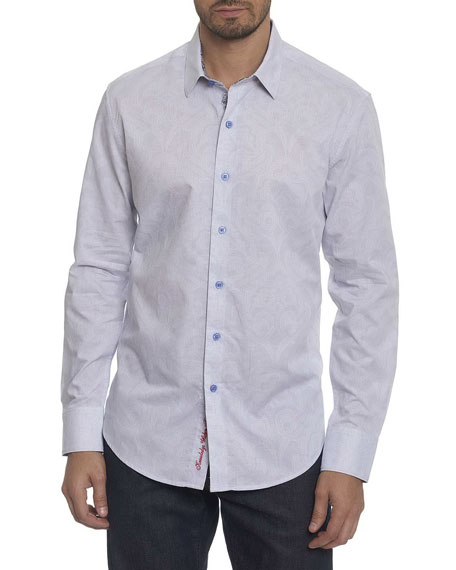 Robert Graham Alex Bay Tonal Jacquard Shirt