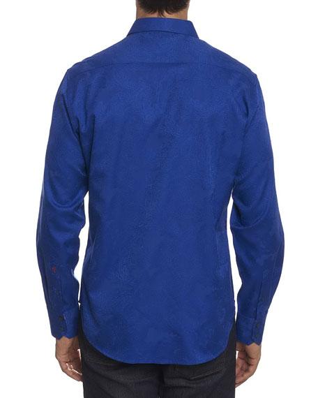 Rosendale Tonal Paisley Shirt