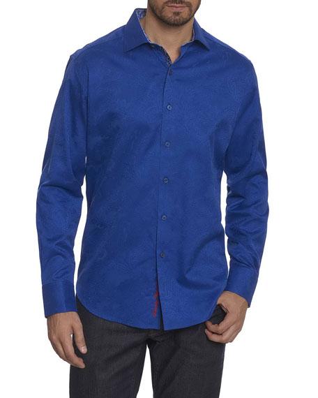 Robert Graham Rosendale Tonal Paisley Shirt