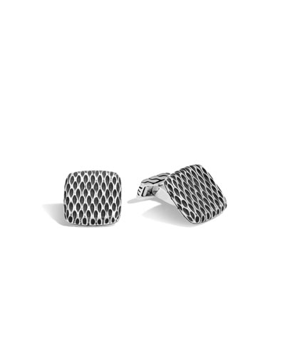 Men's Legends Naga Dragon Sterling Silver Cuff Links