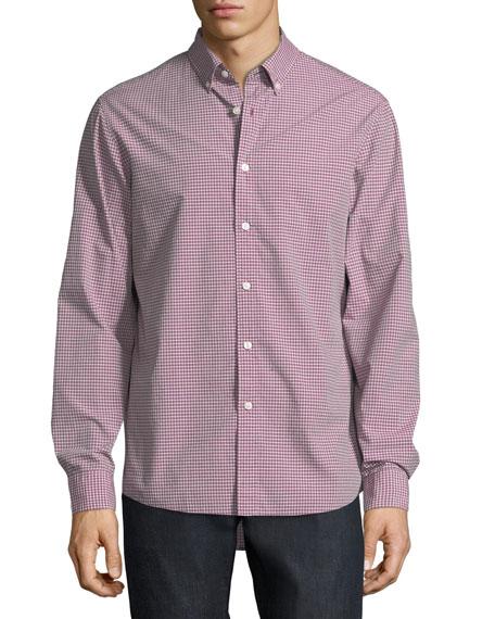 Zane Tailored-Fit Check Cotton Shirt
