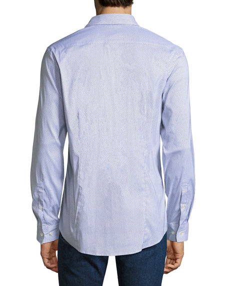 Slim-Fit Printed Shirt