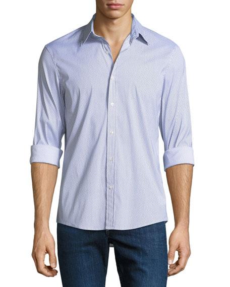 Michael Kors Slim-Fit Printed Shirt