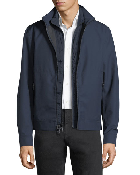 Michael Kors 3-in-1 Weatherproof Wool Jacket