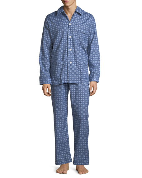 Derek Rose Ledbury 1 Classic-Fit Pajama Set