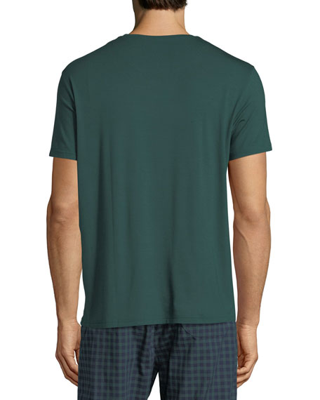 Basel 3 Crewneck Lounge T-Shirt, Green