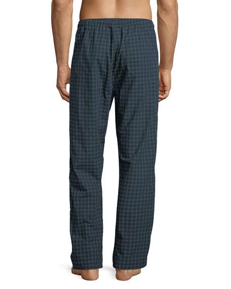 Braemar 44 Check Cotton Lounge Pants
