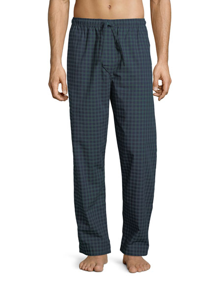 Derek Rose Braemar 44 Check Cotton Lounge Pants