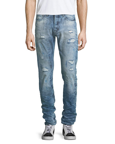 PRPS Demon Distressed Slim-Straight Jeans and Matching Items