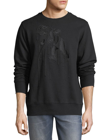 Embroidered Cherub Sweatshirt