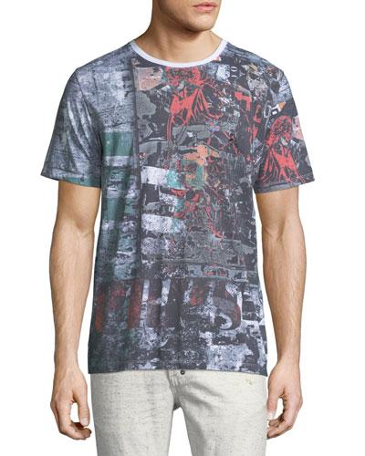 Collage Graphic Logo T-Shirt