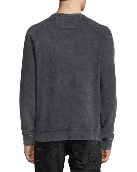 Faded Denim Artisan Sweatshirt