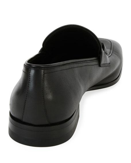 Men's Soft Calfskin Slip On Gancini Loafer