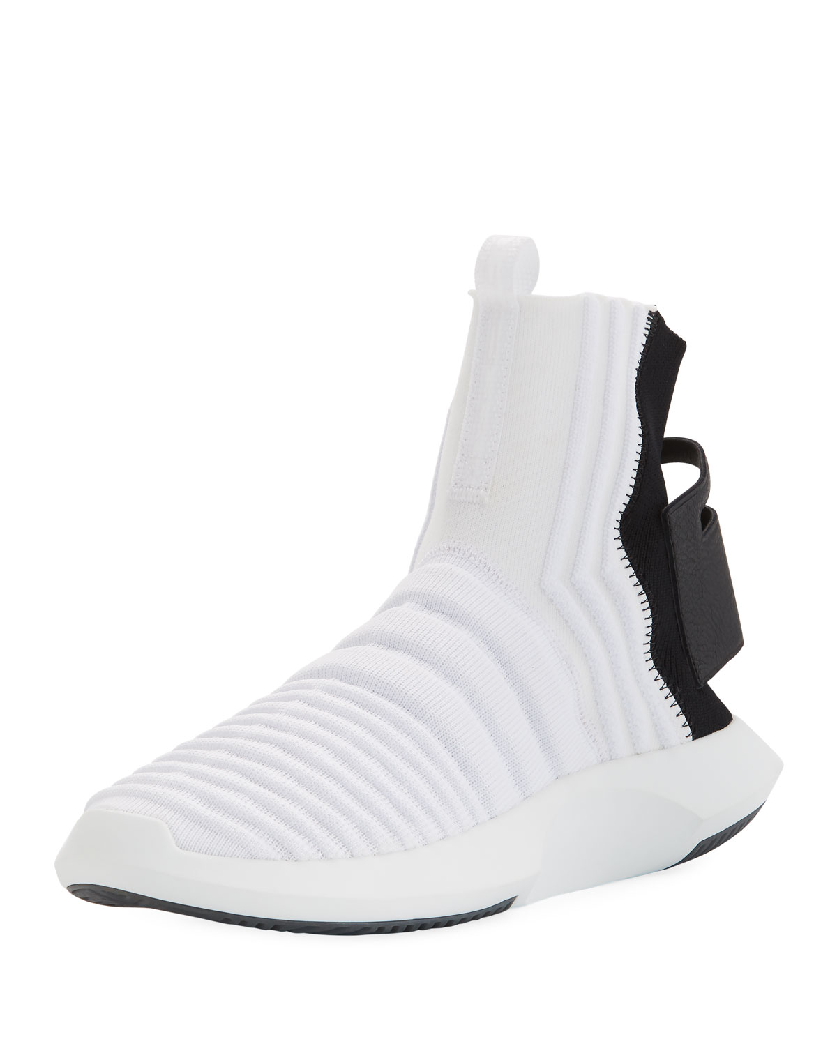 on sale 1dd7c 603c2 AdidasMens Crazy 1 ADV High-Top Sock Sneakers
