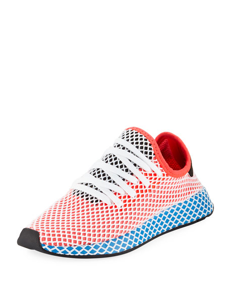 Adidas Men's Deerupt Training Sneakers, Red