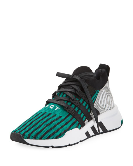 Adidas Men's EQT Support ADV Trainer Sneakers, Black