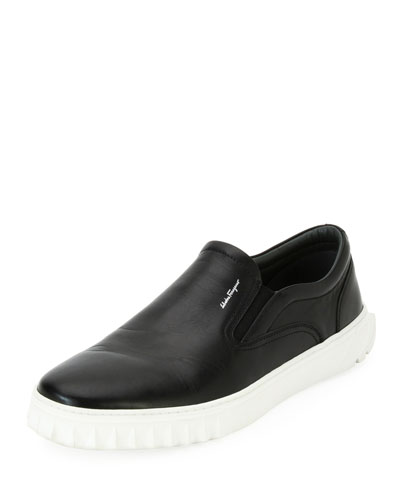 Calfskin Leather Skate Shoe