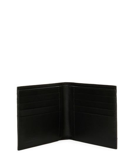 Crocodile 8-Card Bi-Fold Wallet