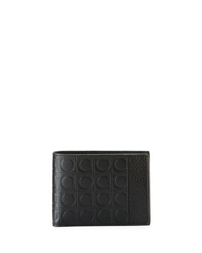 Firenze Gamma Bi-Fold Leather Wallet