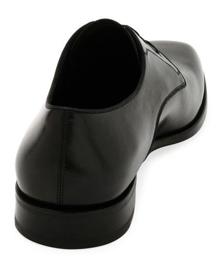 Men's Smooth Calfskin Leather Blucher