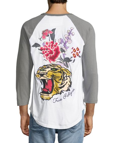 Embroidered Baseball T-Shirt