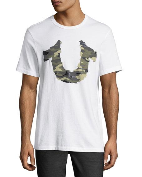 3D Camouflage Horseshoe T-Shirt